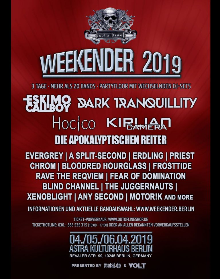 Out of line Weekender 2019
